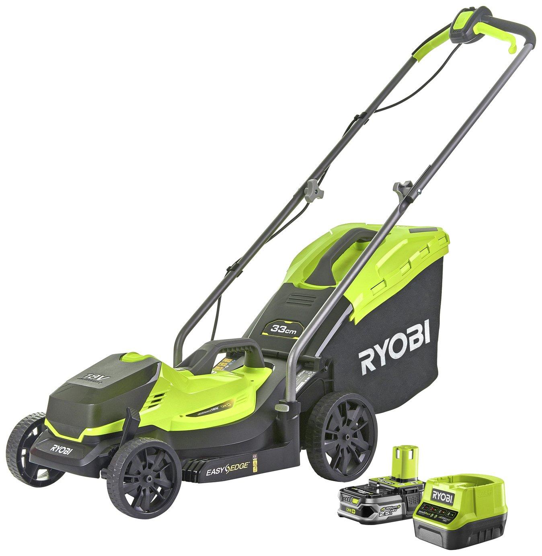 Ryobi RLM18C33B25 2.5Ah Cordless Lawnmower - 18V
