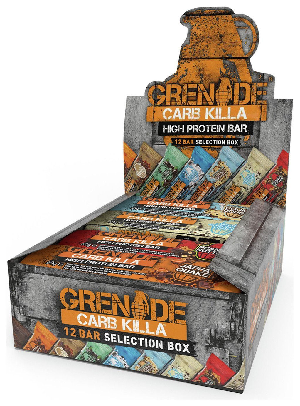 Grenade Carb Killa Selection Box Qty 12