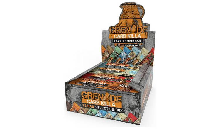 Grenade Carb Killa Selection Box  – 12 x 60g