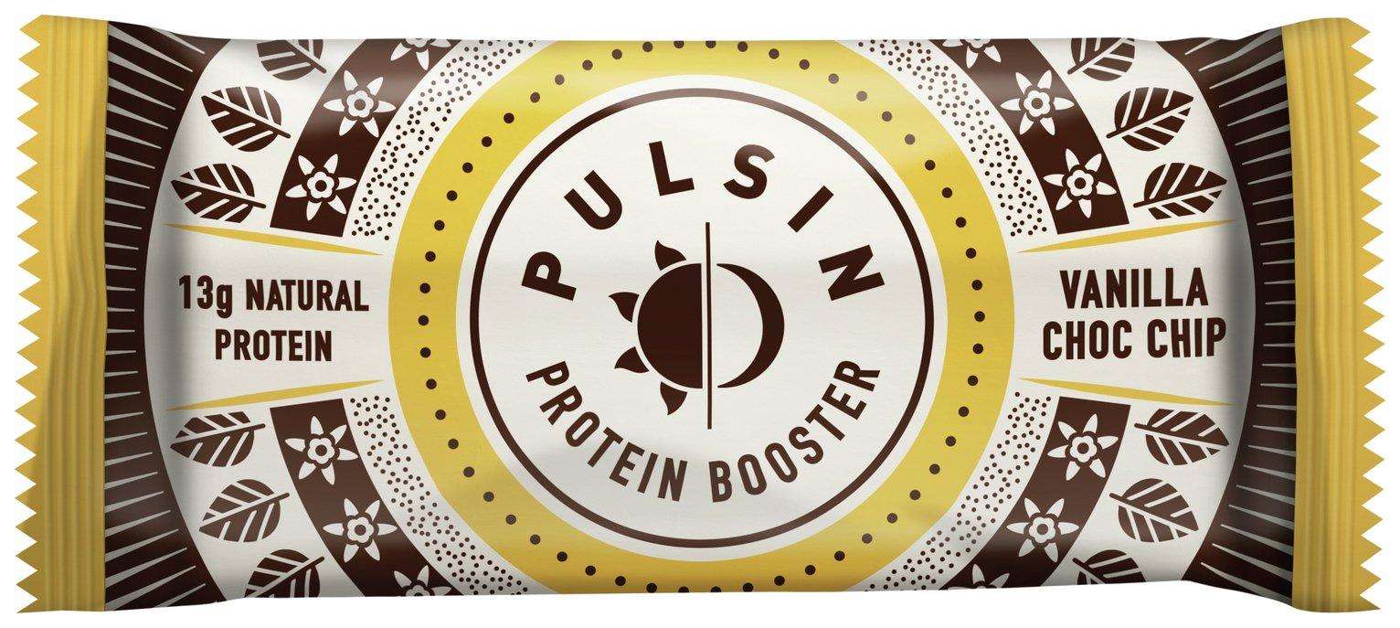 Pulsin Vanilla Choc Chip Protein Booster 50g