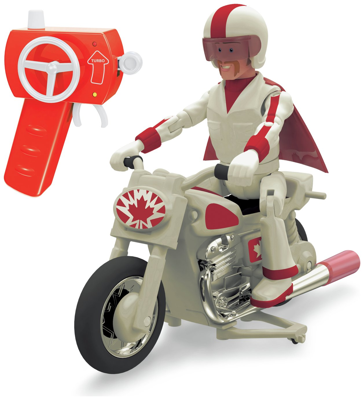 Toy Story 4 RC Duke Caboom Motorcycle Playset