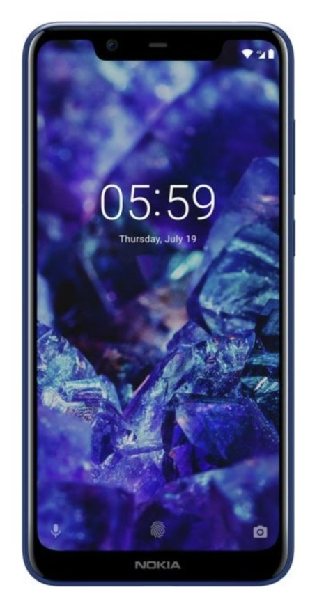 SIM Free Nokia 5.1 Plus 32GB Mobile Phone - Blue