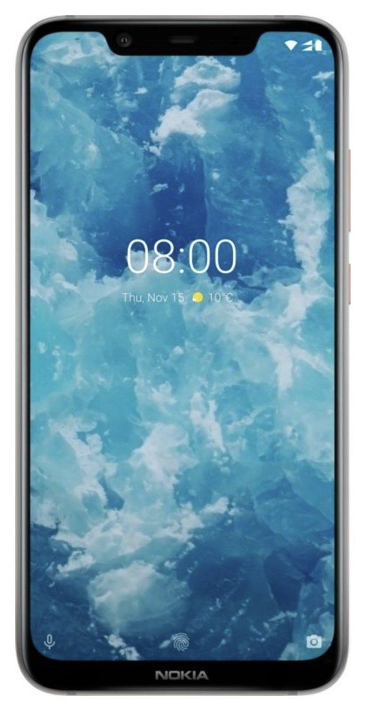 SIM Free Nokia 8.1 64GB Mobile Phone - Silver