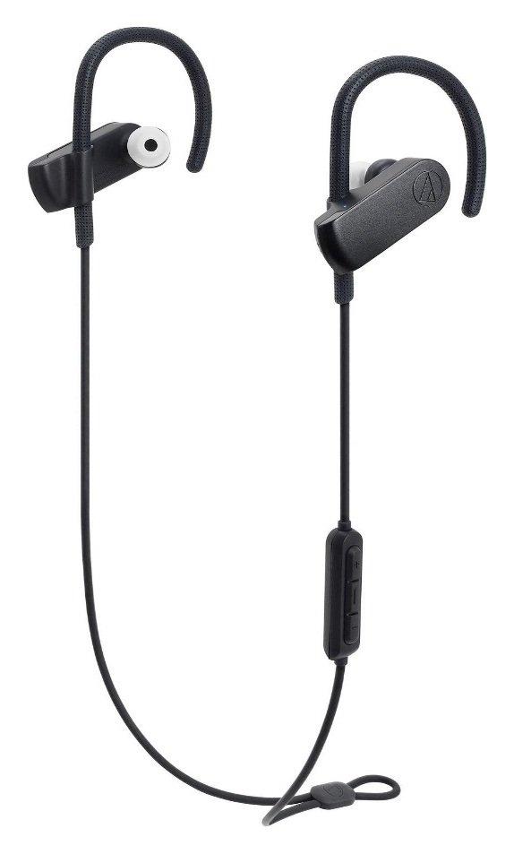 Audio Technica ATH-SPORT70BTBK In-Ear Wireless Headphones