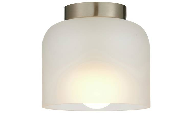 Argos Home Miri Glass Flush Ceiling Light