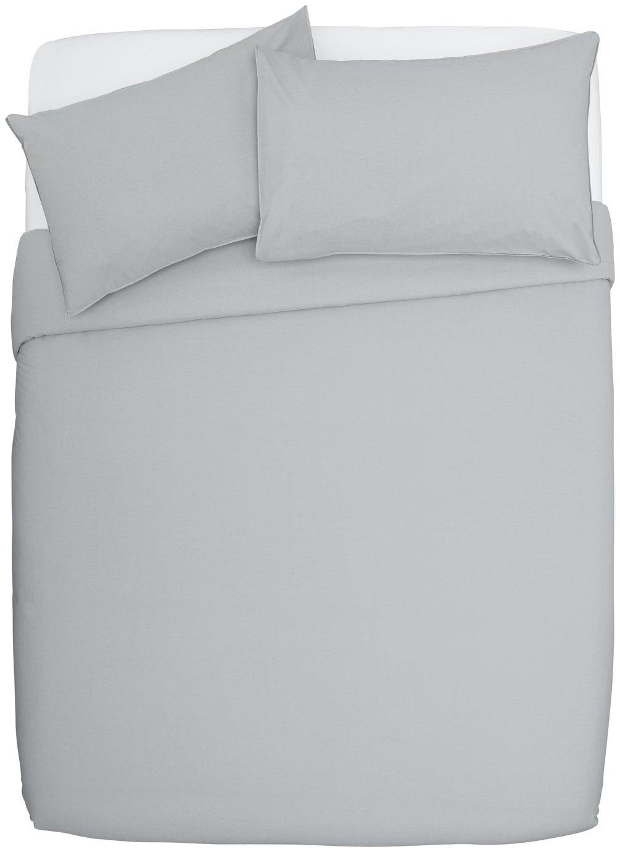 Argos Home Dove Grey Cotton Rich Bedding Set review