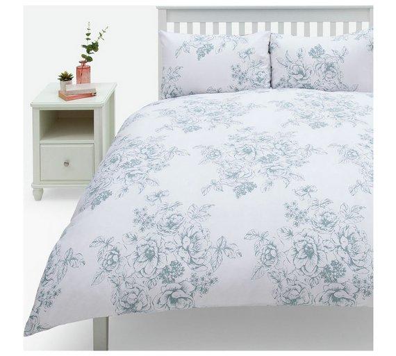 Buy Argos Home Classic Floral Bedding Set Double Duvet Cover