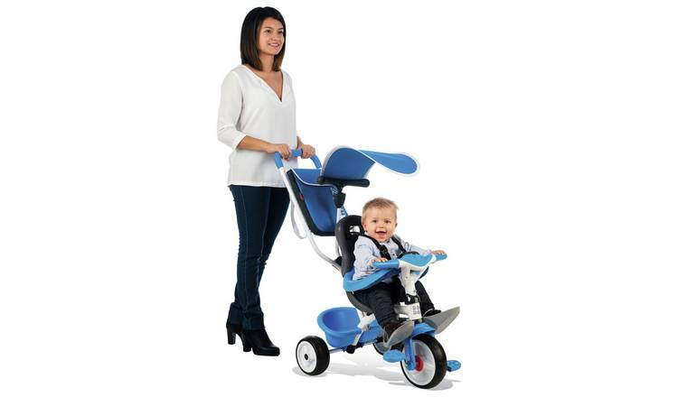 Smoby 3 in 1 Trike - Blue