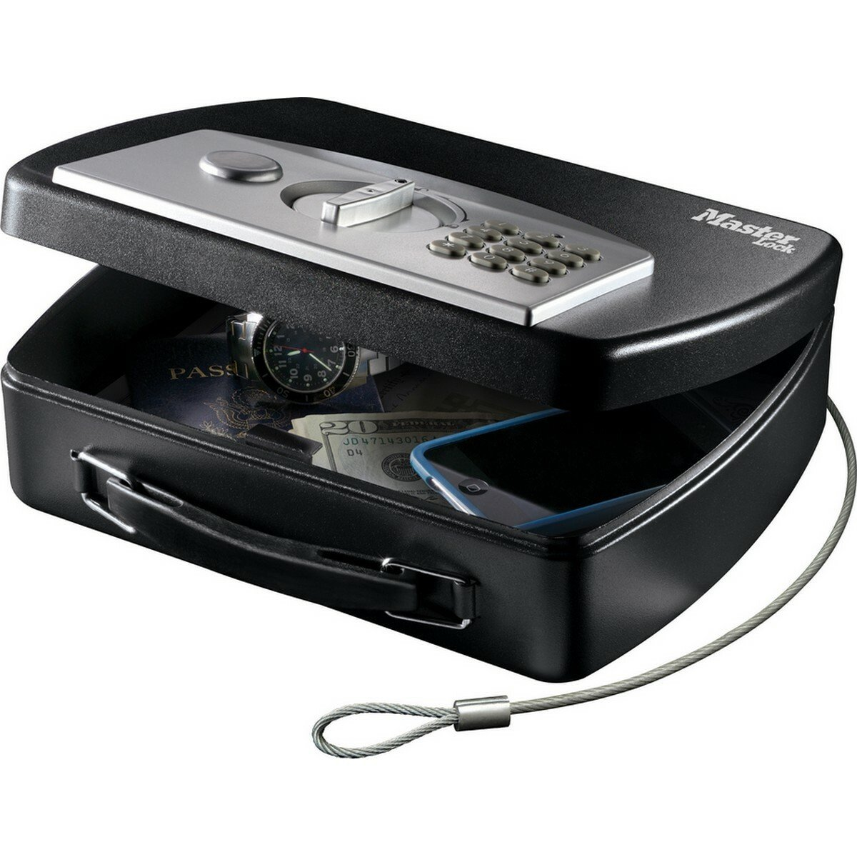 Master Lock Digital Safe with Cable