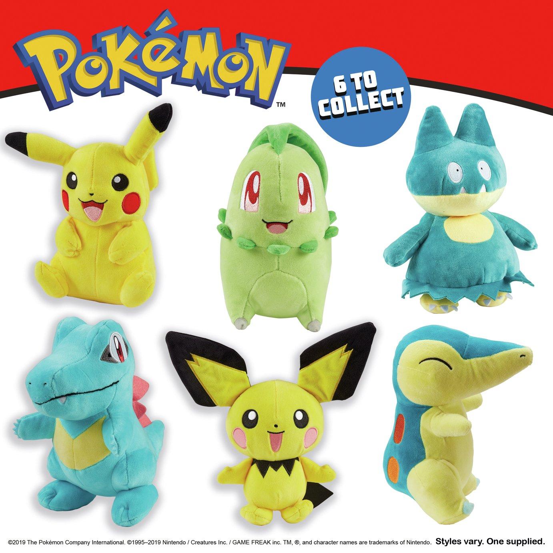 Pokemon 8inch Soft Toy Assortment