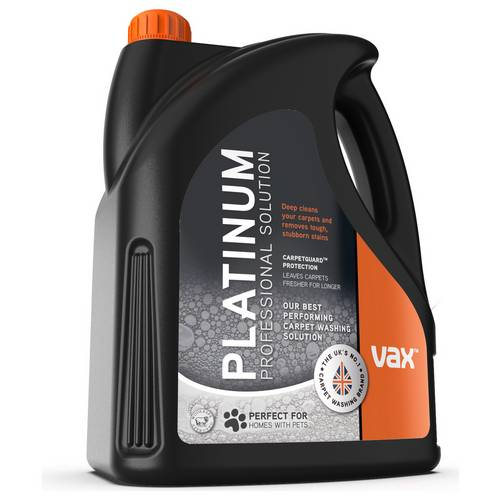 Buy Vax Platinum 4l Carpet Cleaning Solution Carpet