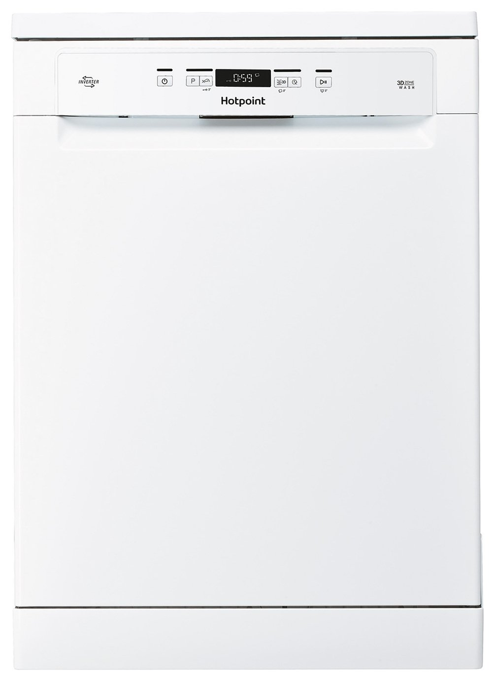 Hotpoint HFC3C26WUK Full Size Dishwasher - Stainless Steel