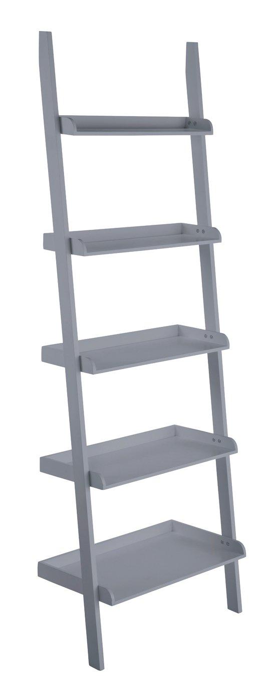 Habitat Jessie Wide Bookcase - Grey