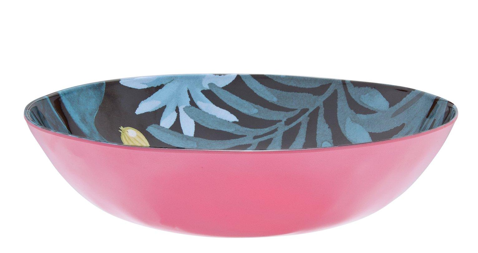 Argos Home Rainforest Pasta Bowl - 4 Pack
