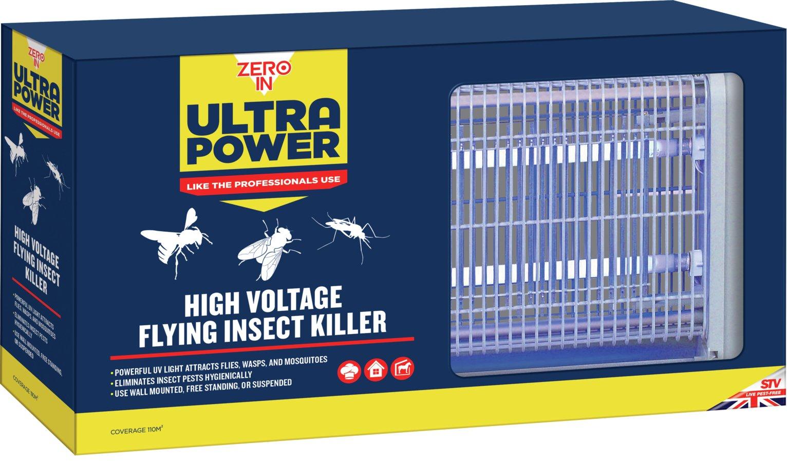 Zero In Ultra Power UV Light Insect Killer
