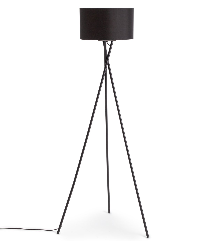 Habitat Matt Tripod Floor Lamp - Black