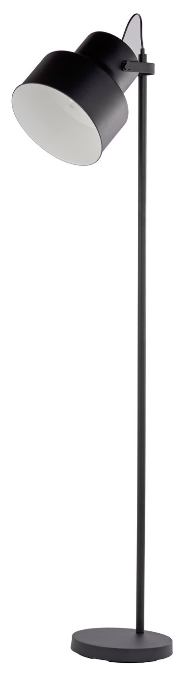 Argos Home Franke Black Floor Lamp