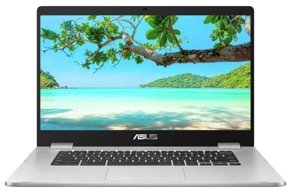 ASUS C523 15.6 Inch Celeron 4GB 64GB Chromebook - Silver