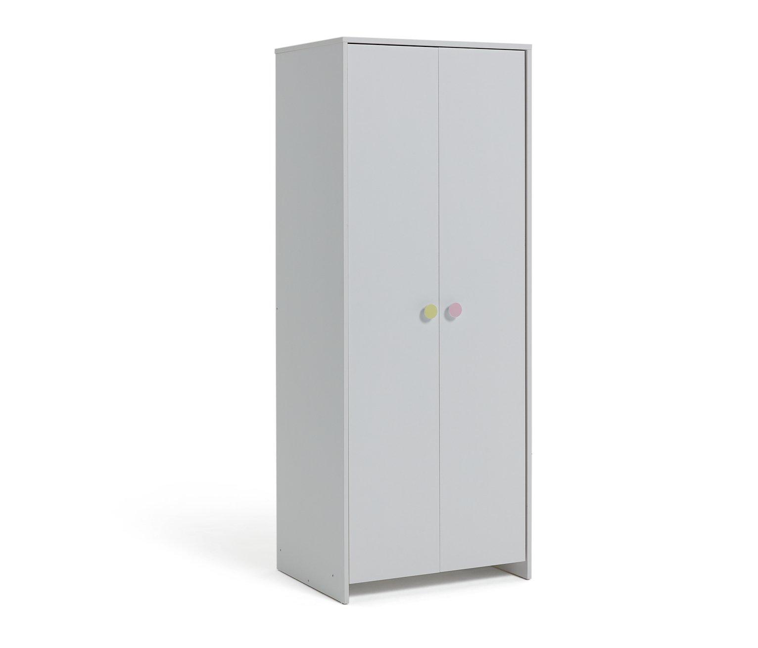 Argos Home Juno 2 Door Wardrobe - White