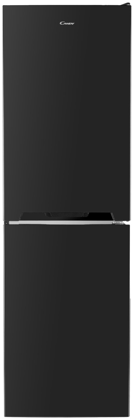 Candy CVS1745BK Fridge Freezer - Black Best Price, Cheapest Prices