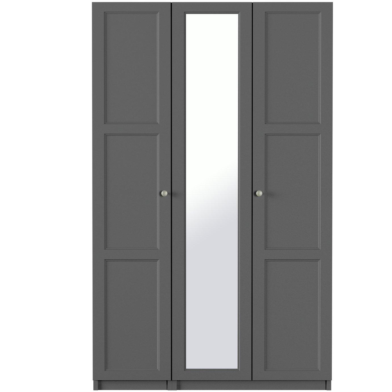 One-Call Bexley 3 Door Mirrored Wardrobe