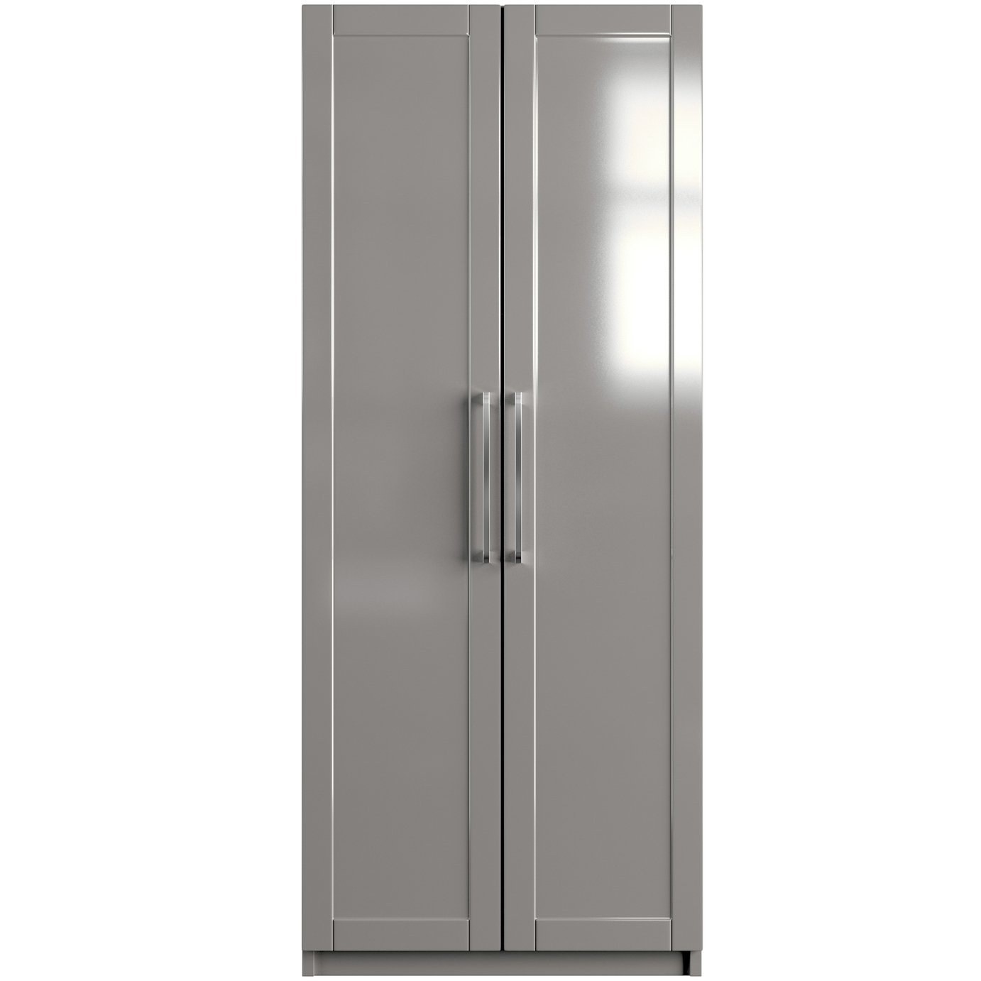 One-Call Colby Gloss 2 Door Wardrobe