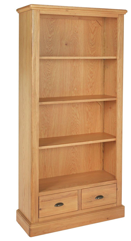 Argos Home Oakham Large 2 Drawer Bookcase
