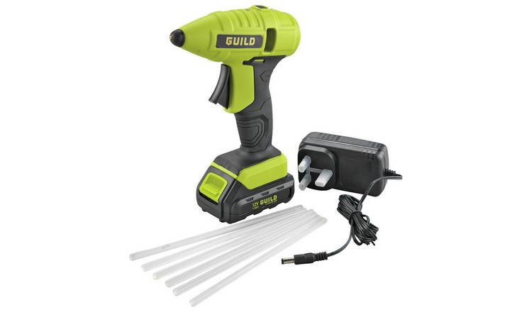 Buy Guild Cordless Glue Gun with 24 Glue Sticks | Glue guns | Argos