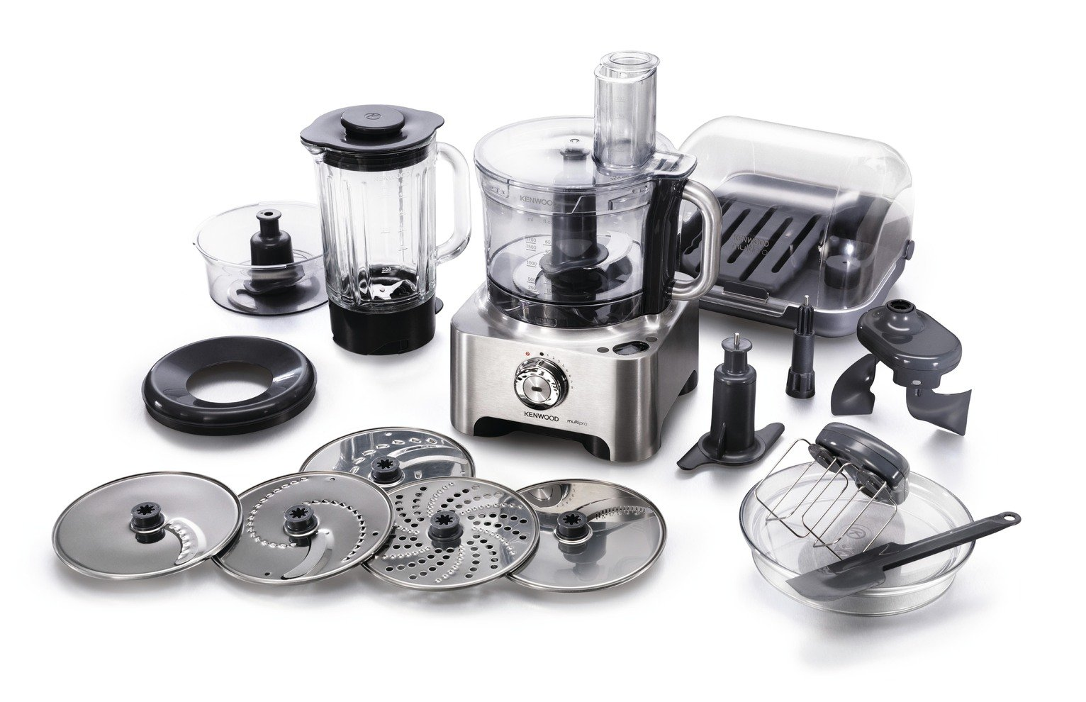 Kenwood FPM810 Food Processor - Stainless Steel