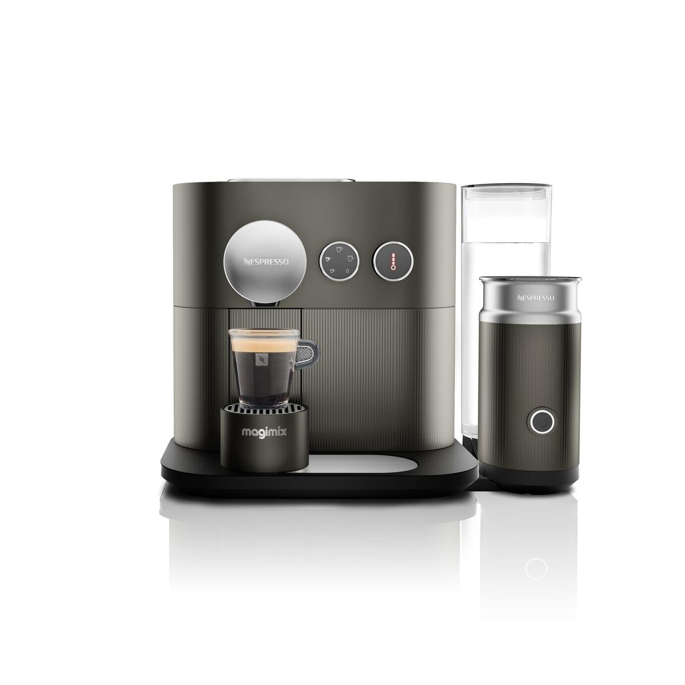 Nespresso Magimix Expert Pod Coffee Machine Bundle - Granite