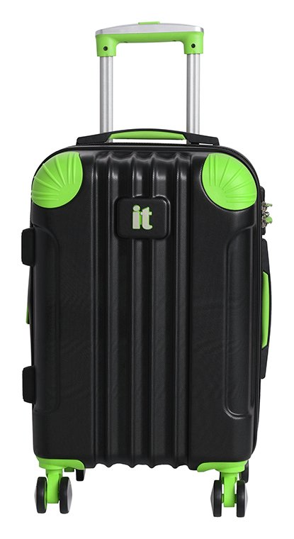 IT Luggage Expandable 8 Wheel Hard Cabin Suitcase - Small