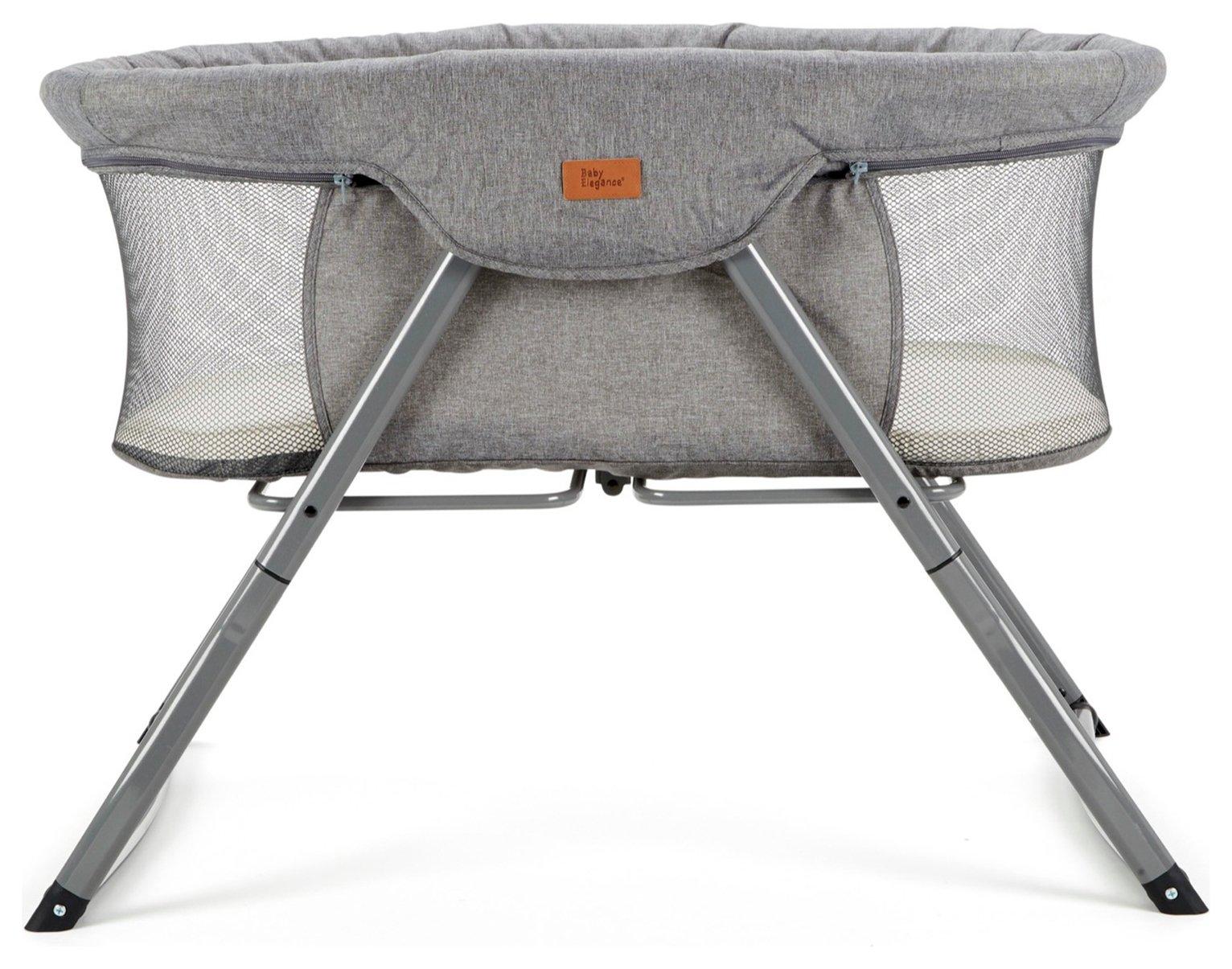 Baby Elegance Kangu Crib - Grey