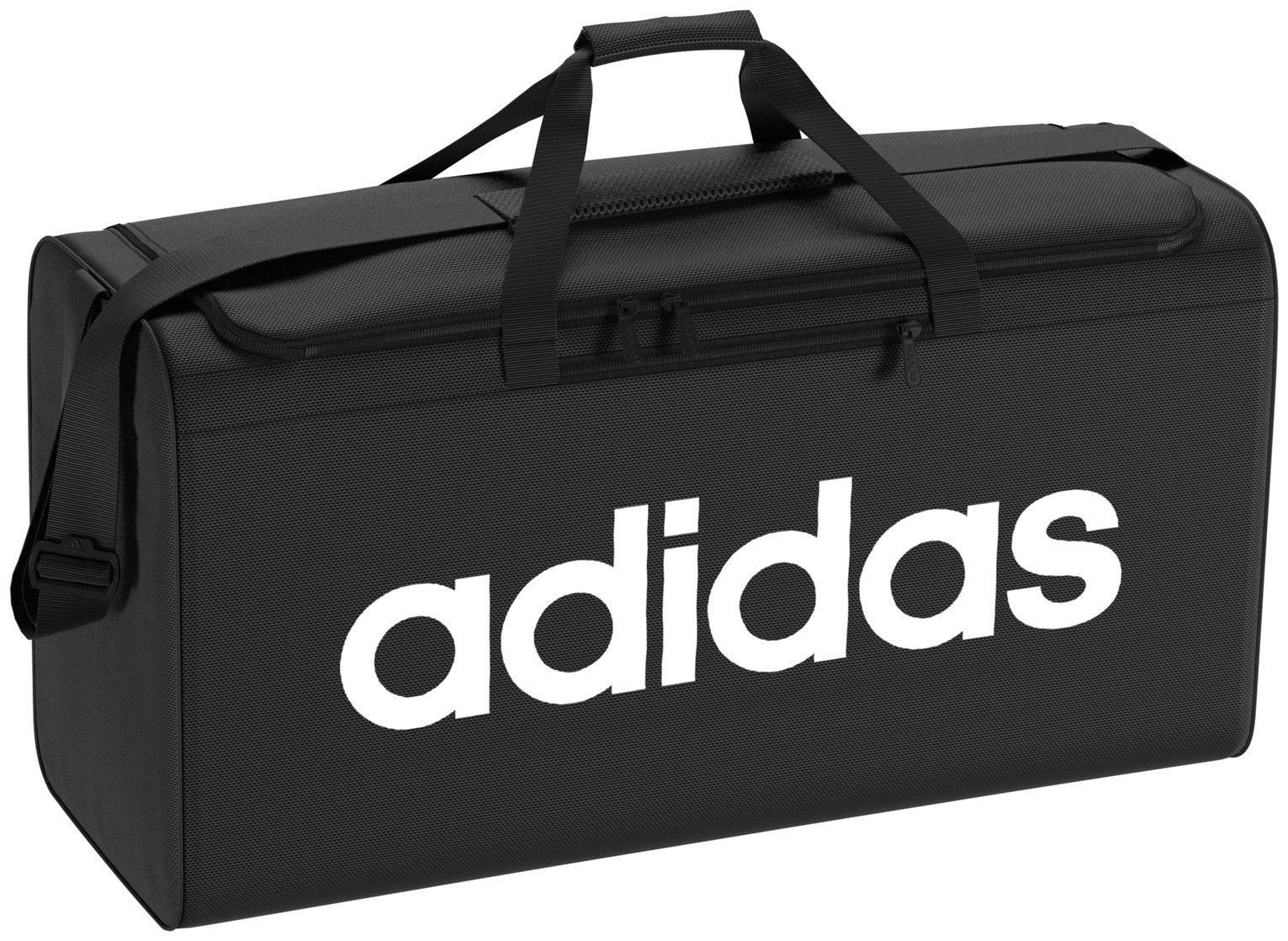 Adidas Large Black Holdall and Shoe Bag