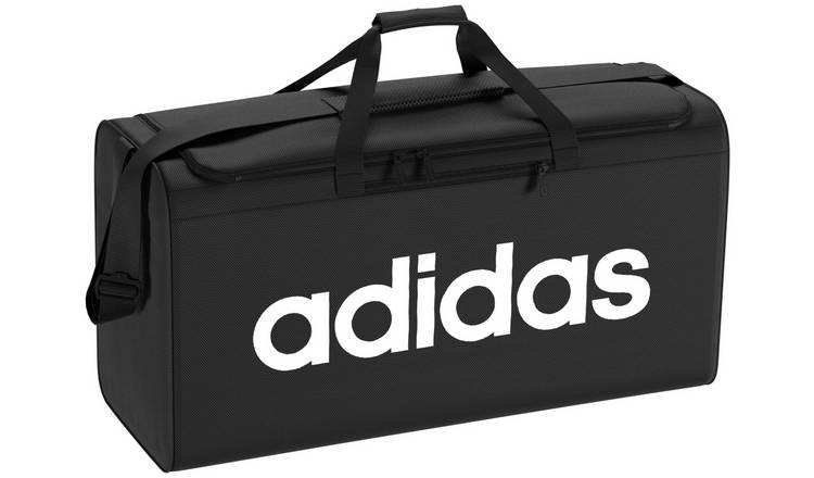 hot sales another chance factory price Buy Adidas Large Black Holdall and Shoe Bag | Gym bags | Argos