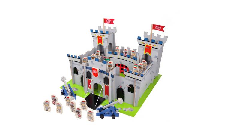 Buy Chad Valley Knights Wooden Castle Wooden Toys Argos