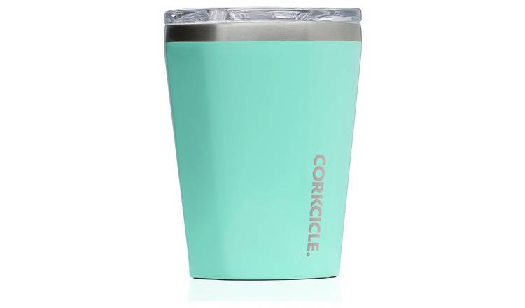 Corkcicle Stainless Steel Turquoise Travel Cup - 355ml
