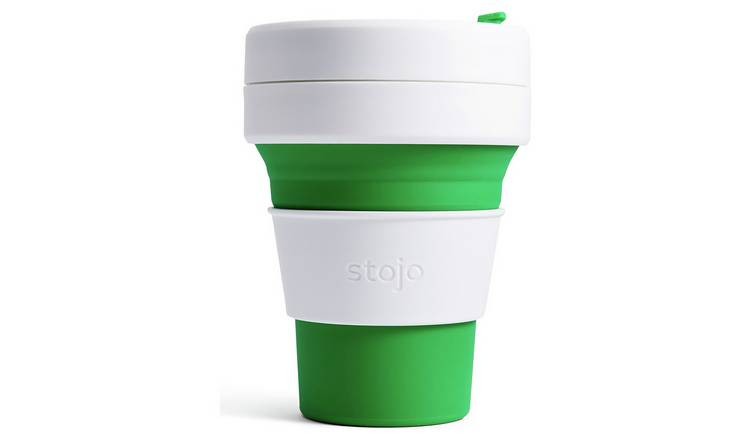 Stojo Pocket Cup 355ml - Green