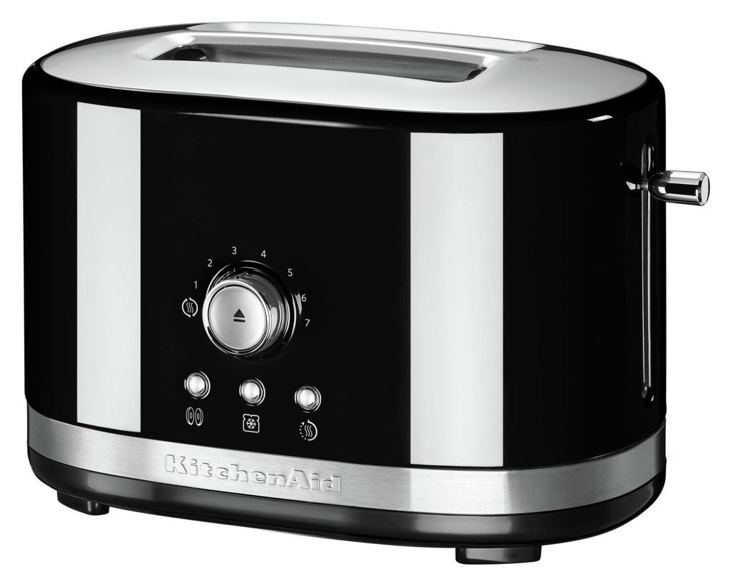 KitchenAid Manual Control 2 Slice Toaster - Black