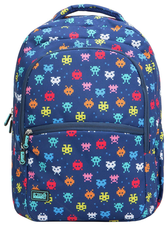 Soda Squad Invaders 22L Backpack - Blue