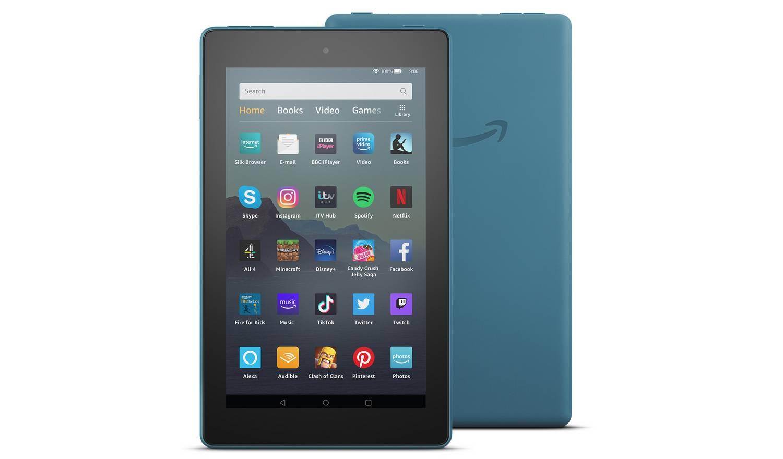 Amazon Fire 7 with Alexa 7 Inch 16GB Tablet - Twilight Blue