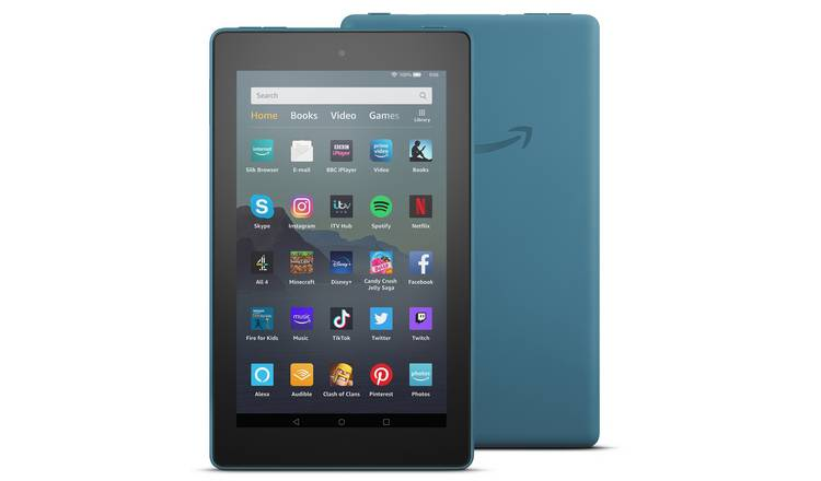 Amazon Fire 7 with Alexa 7 Inch 16GB Tablet - Twilight Blue