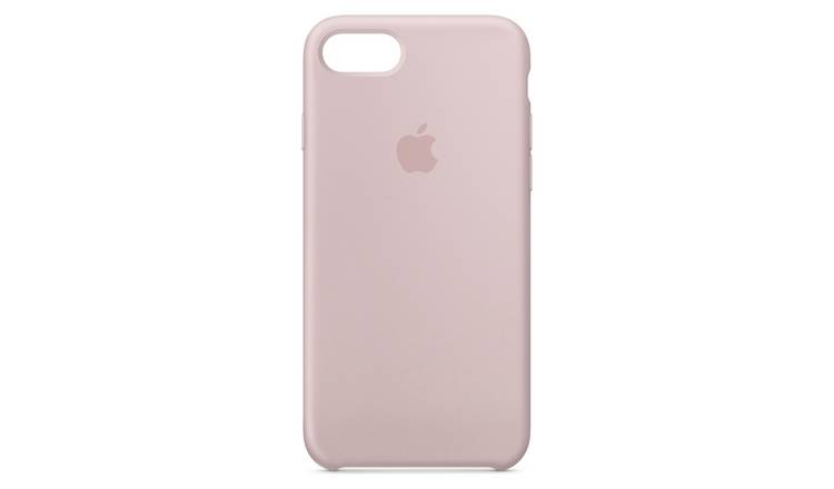 purchase cheap 878cc 7f5b2 Buy Apple iPhone 8 Silicone Phone Case - Pink Sand | Mobile phone cases |  Argos