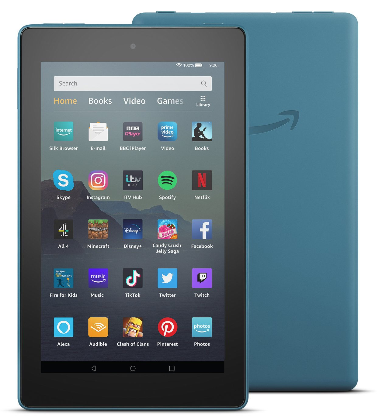 Amazon Fire 7 with Alexa 7 Inch 32GB Tablet - Twilight Blue
