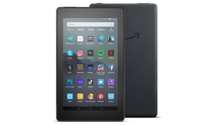 Amazon Fire 7 with Alexa 7 Inch 32GB Tablet - Black