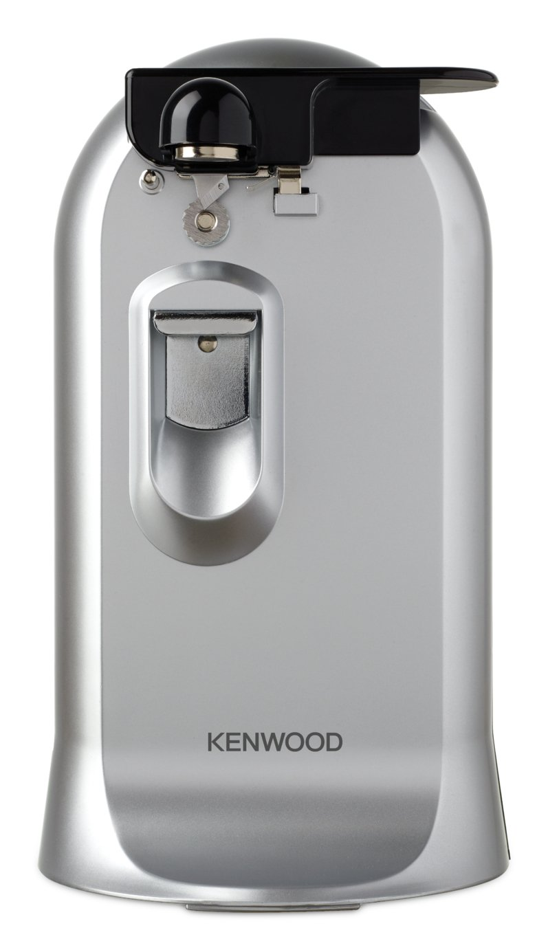 Image of Kenwood Can Opener, Knife Sharpener & Bottle Opener - Silver