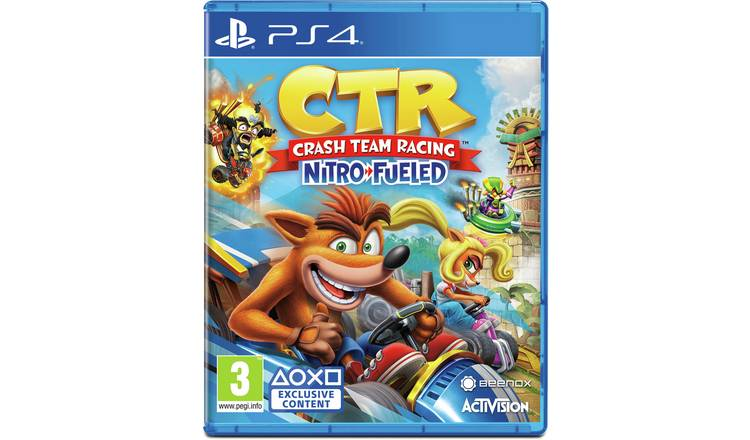 Buy Crash Team Racing Nitro-Fueled PS4 Game | PS4 games | Argos