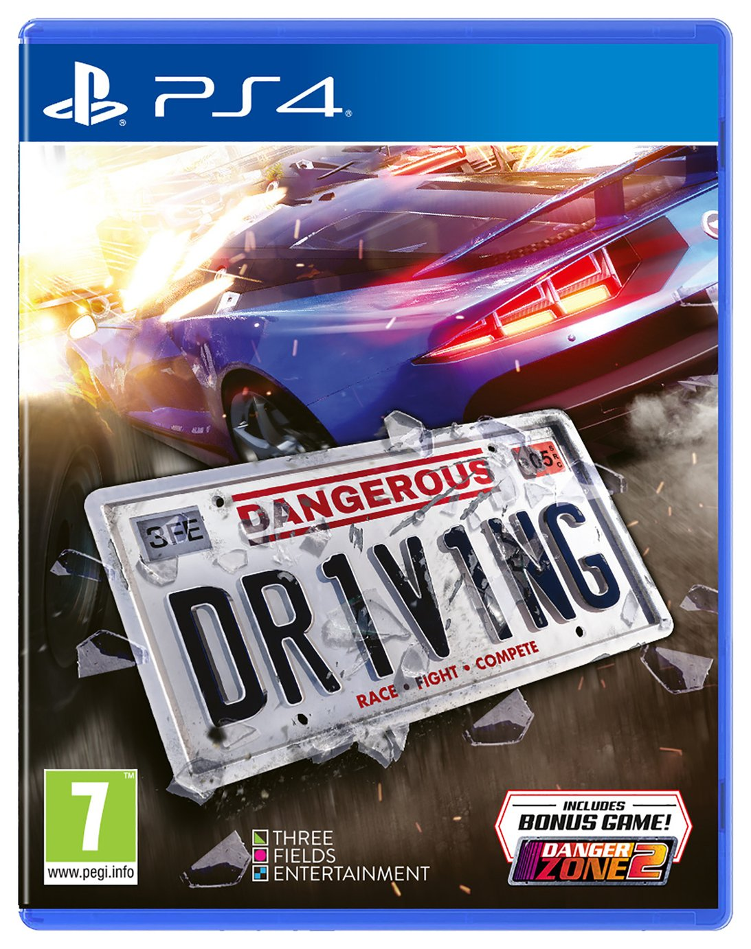 Dangerous Driving PS4 Game