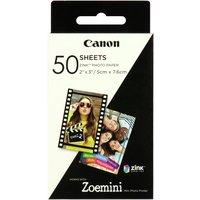 Canon Zoemini Zink Photo Paper - 50 Sheets