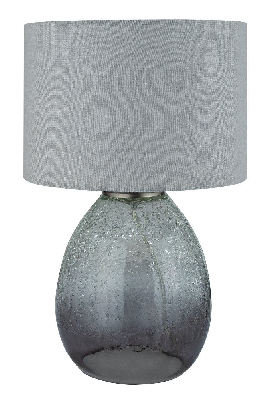 Argos Home Albus Crackle Ombre Glass Table Lamp
