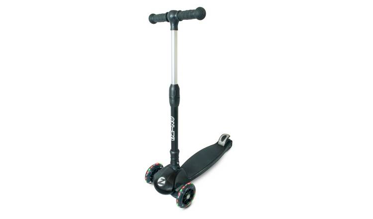 Zinc Black Folding T-Motion Tri Scooter 6